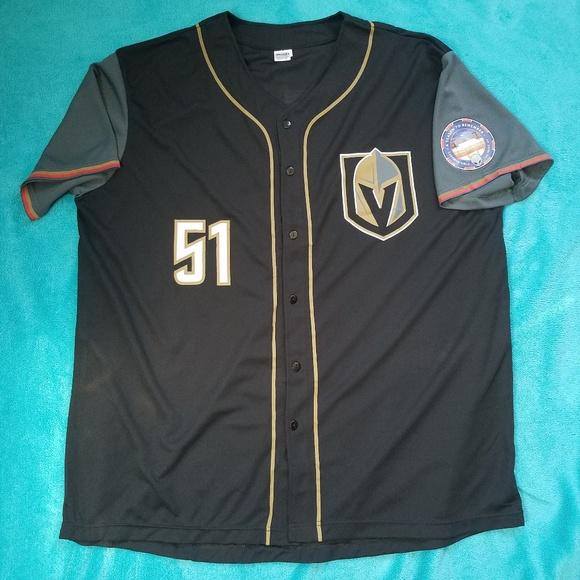 100% authentic d277f 70722 Vegas Golden Knights 51's NEW XL baseball jersey NWT